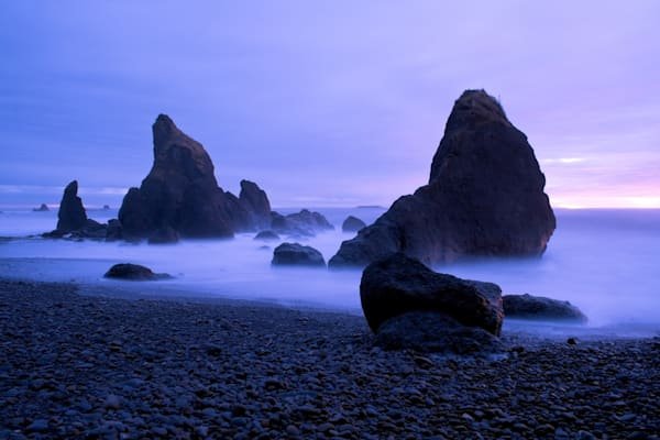 Pacific Dusk, Ruby Beach, Washington, USA