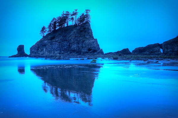 Pacific Dark, Second Beach, Washington, USA