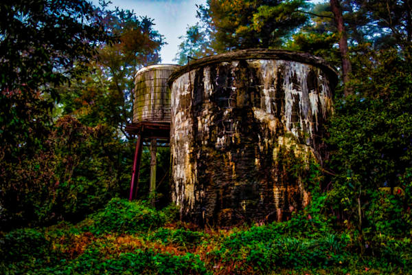 Haskell Water Tower Fine Art Photograph | JustBob Images