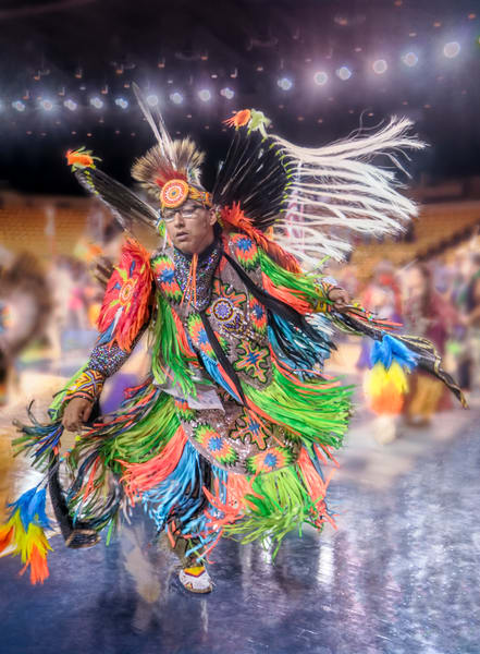 Native American Dancer Tribe Pow Wow|Wall Decor fleblanc
