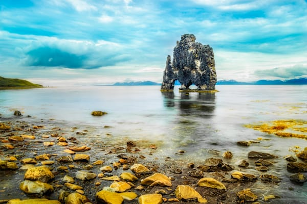 Hvítserkur, The Petrified Troll, North Iceland