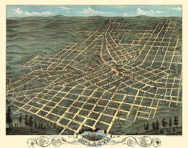Atlanta, Georgia 1871