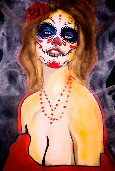 La Catrina De Amor   (Love) Art | William K. Stidham - heART Art