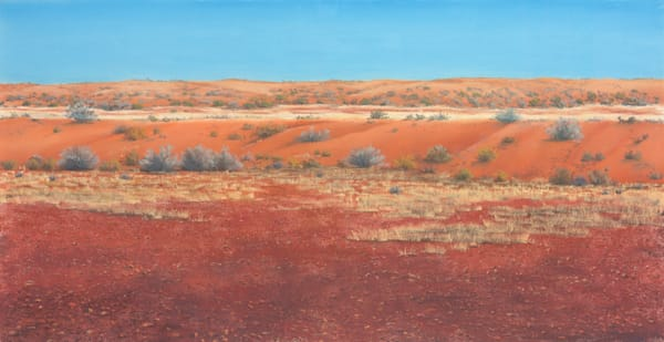 Gibber Between the Dunes by Jenny Greentree