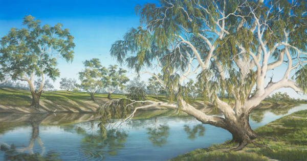 Darling River Peace by Jenny Greentree