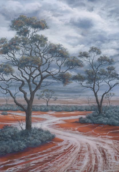 Outback Drenching by Jenny Greentree