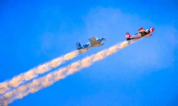 Airshow Aerobatics Smoke Flight Fighter Precision Stunt fleblanc