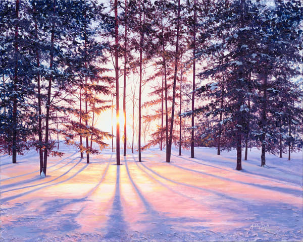 Winter Inspired Landscape Art and Paintings for Sale.