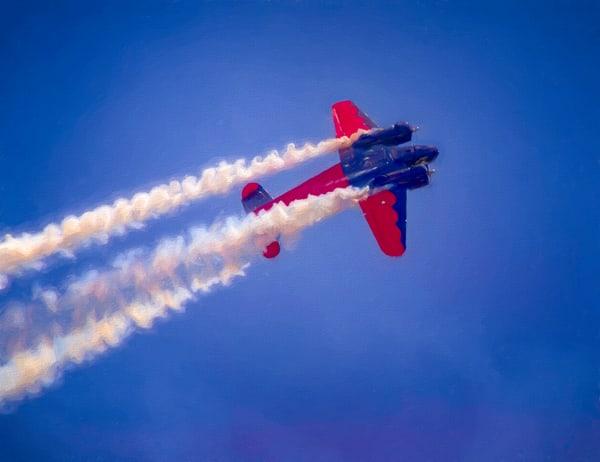 Airshow Aerobatics Smoke War Expediter Precision Stunt fleblanc