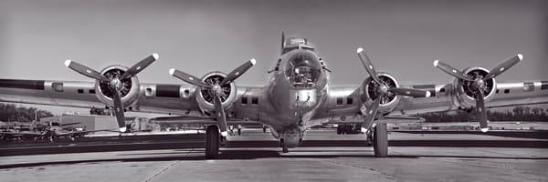 Strategic B-17 Flying Fortress Vintage Restored Aircraft fleblanc