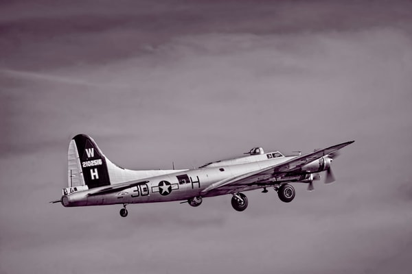 B-17 Boeing Strategic Bomber Flying Fortress Restored Old fleblanc