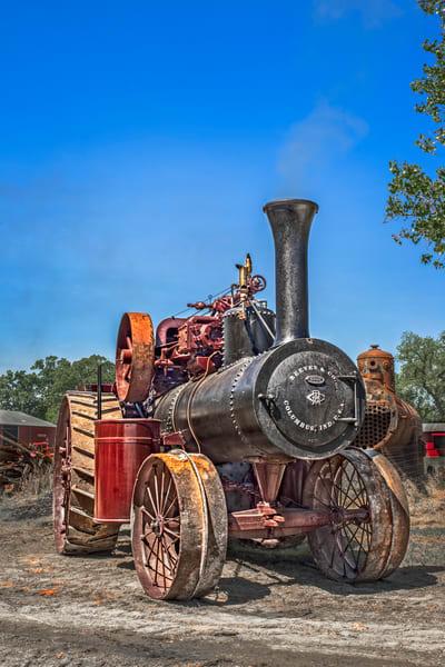Reeves Steam Powered Tractor Wall Decor|Wall Decor fleblanc