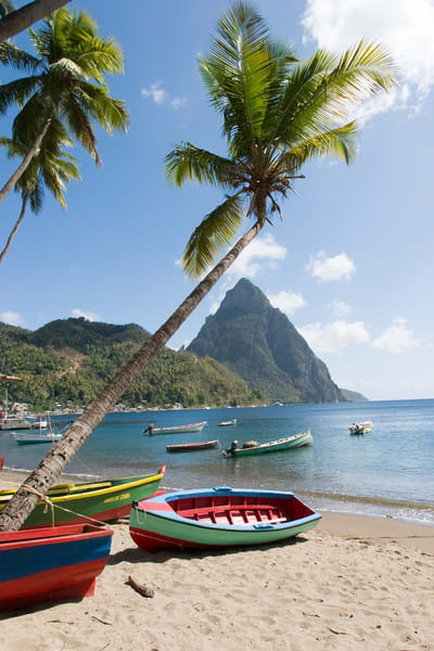 paradise, pitons, st lucia