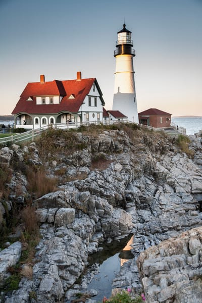 Portland Head Light, Maine, lighthouse