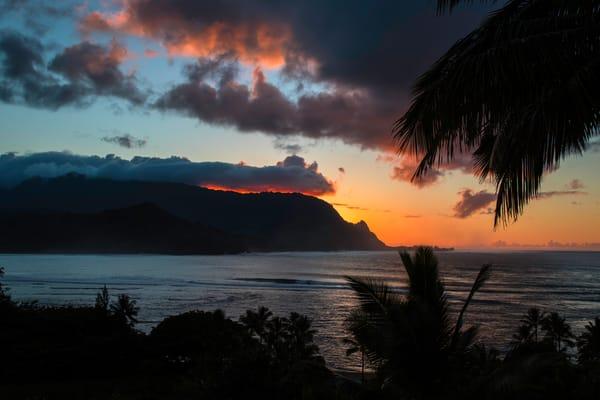 bali hai, sunset, Kauai