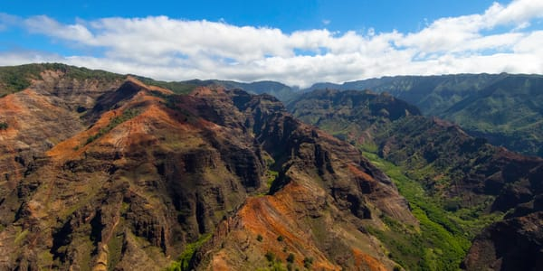 Waimea, Kauai, Hawaii, aerial