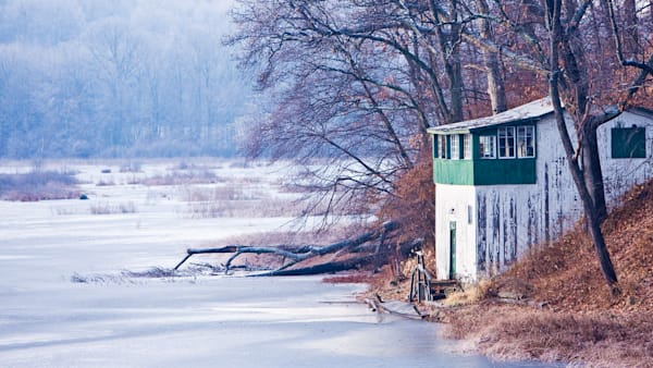 The Boat House at Meriden's Black Pond