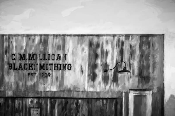 Blacksmith Shop Rust Chalk Sign Decor|Wall Decor fleblanc
