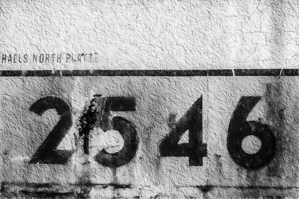 Union Pacific Caboose 2546 Abstract|Wall Decor fleblanc
