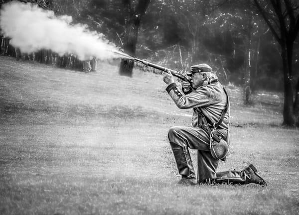 Civil War Reenactment Black Powder Realistic Historic fleblanc
