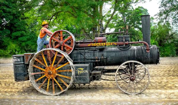 Frick Steam Powered Antique Tractor|Wall Decor fleblanc