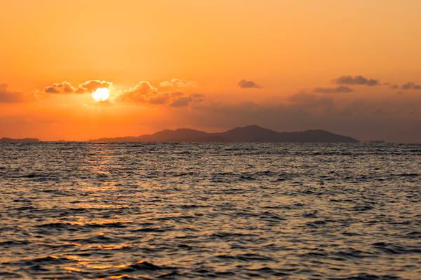Fiji Sunset print