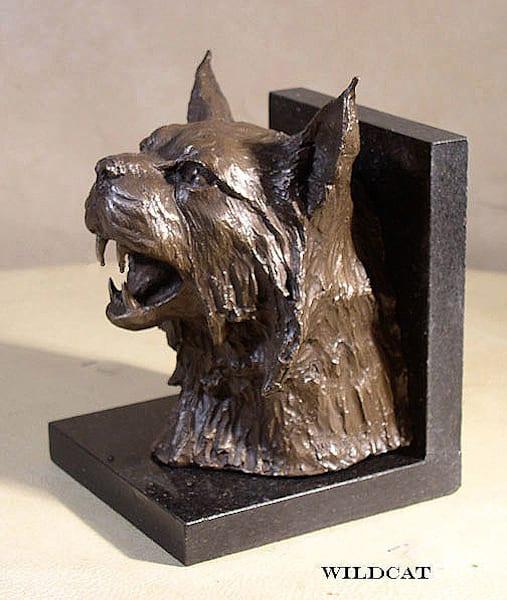 Wildcat (Bookends) by Jim Gruzalski