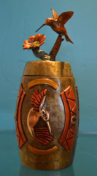 Cloud Dancer Original Bronze/ Urn by Jammey Huggins