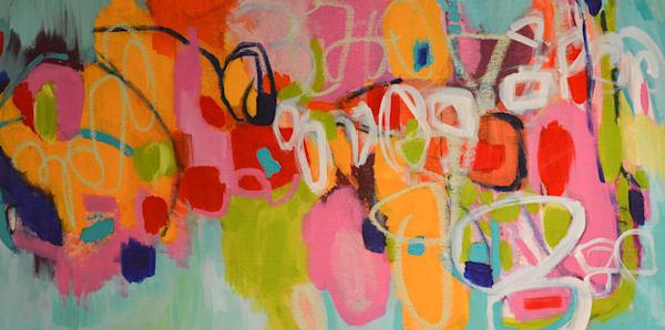Celebration I by Geraldine Gillingham | SavvyArt Market original acrylic painting