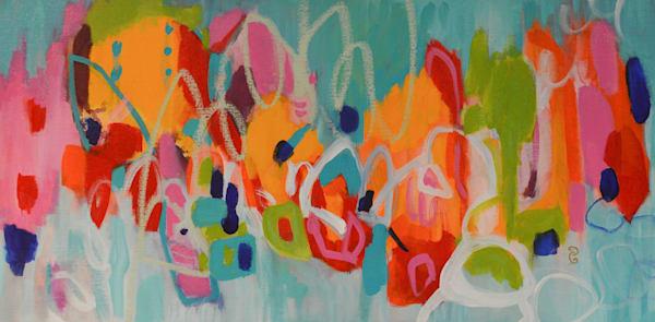Celebration II by Geraldine Gillingham | SavvyArt Market original acrylic painting