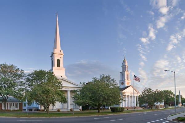 Broad Street Meriden churches and Memorial