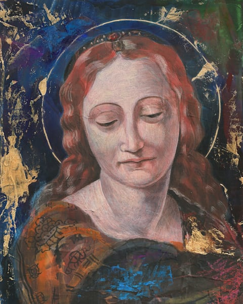 Blue Madonna by Ernie Francis | SavvyArt Market art print