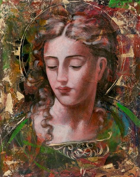Green Madonna by Ernie Francis | SavvyArt Market art print