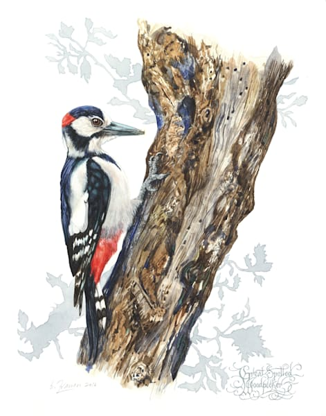 Woodpecker by Ernie Francis | SavvyArt Market art print