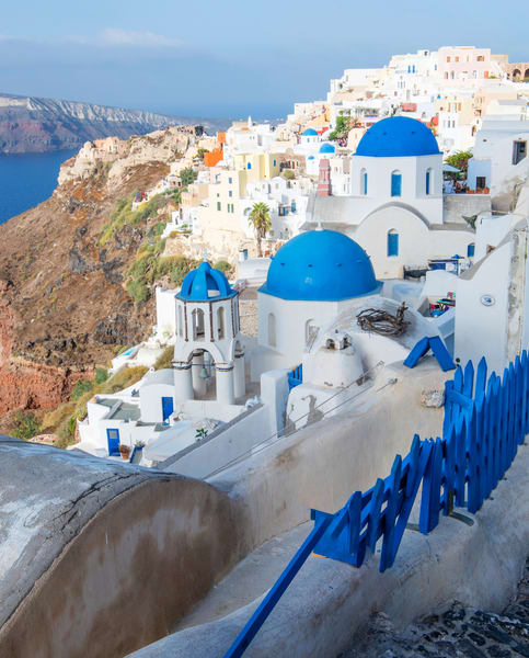 Oia Town, Santorini Greece Fine Art Photo print by Brad Scott