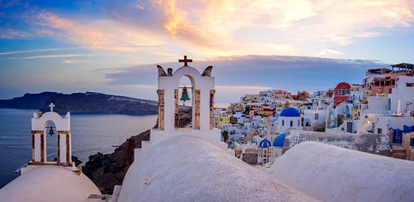 Oia Sunset, Santorini Greece Fine Art Photo Print by Brad Scott