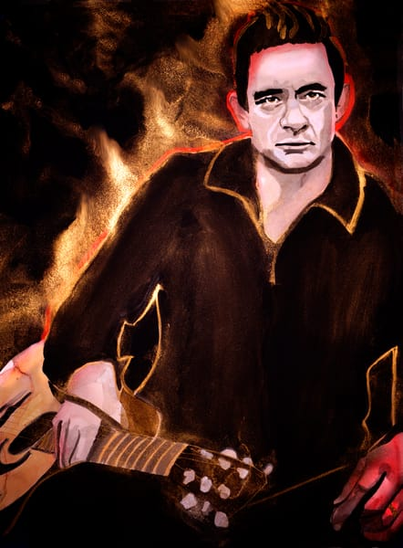 "JOHNNY CASH - ""Ring of Fire"""
