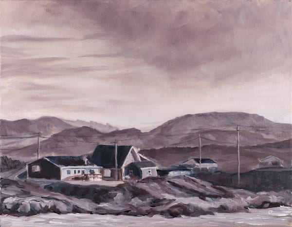 One August Morning at Grand Bay West - prints of a painting by Janet Jardine.