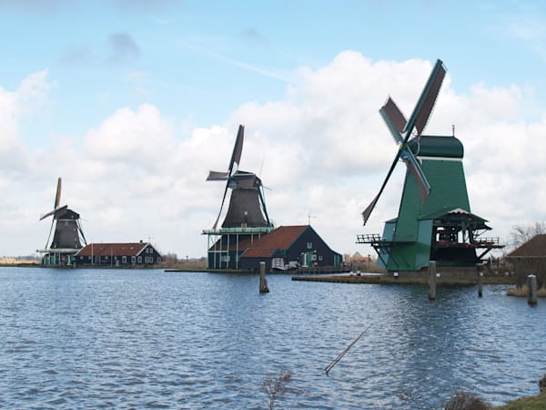Dutch Windmills in Belgium