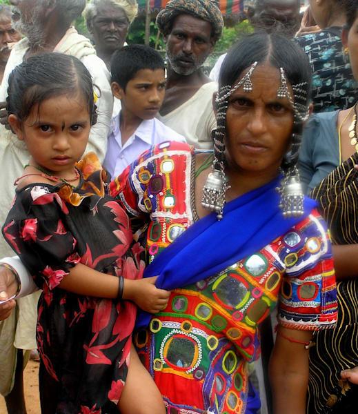 Gypsy Family--India