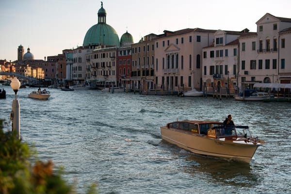 Venice Grand Canal, Fine Art Photography Print by Brad Scott