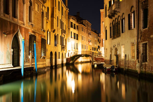 Midnight In Venice, Fine Art Photography print by Brad Scott