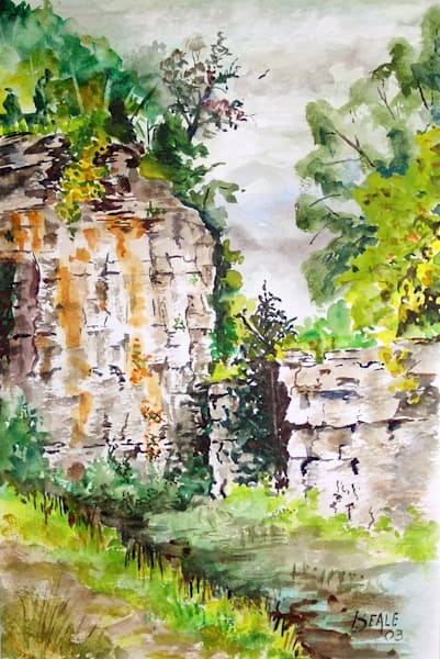 Abandoned Quarry Art | David Beale