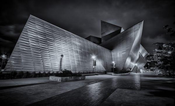 The Denver Art Museum B&W Photograph