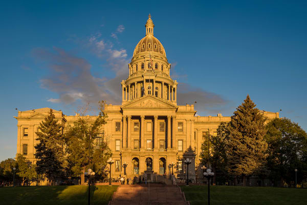 Photo of Colorado State Capitol Building After Renovation