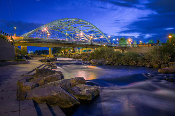 Photo of Denver Confluence Park & 16th Street Bridge