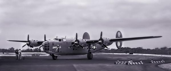 Consolidated B-24 Liberator Bomber Combat Restored fleblanc
