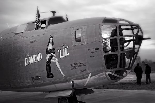Diamond Lil B-24 Liberator Guns WW2 Restored Aircraft fleblanc