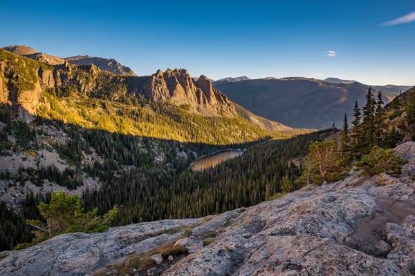 Photograph of Odessa Gorge with Odessa Lake Rocky Mountain National Park Colorado