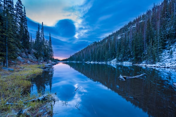 Photo from Other Side of Dream Lake Rocky Mountain National Park
